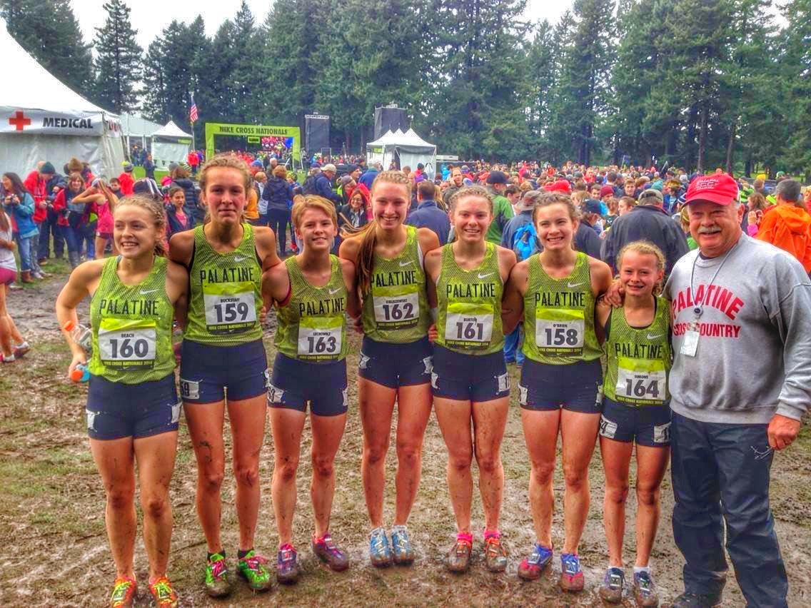 new concept 4dd55 122ff Lady Pirates finish 12th at Nike Cross Nationals | Palatine ...